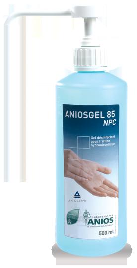 ضدعفونی کننده دست آنیوس ژل 85 مانوژل
