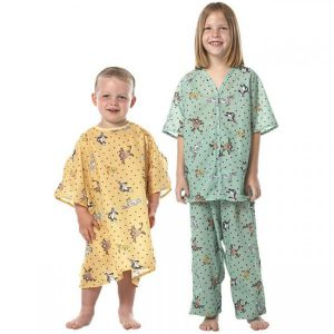 لباس بیمار کودک