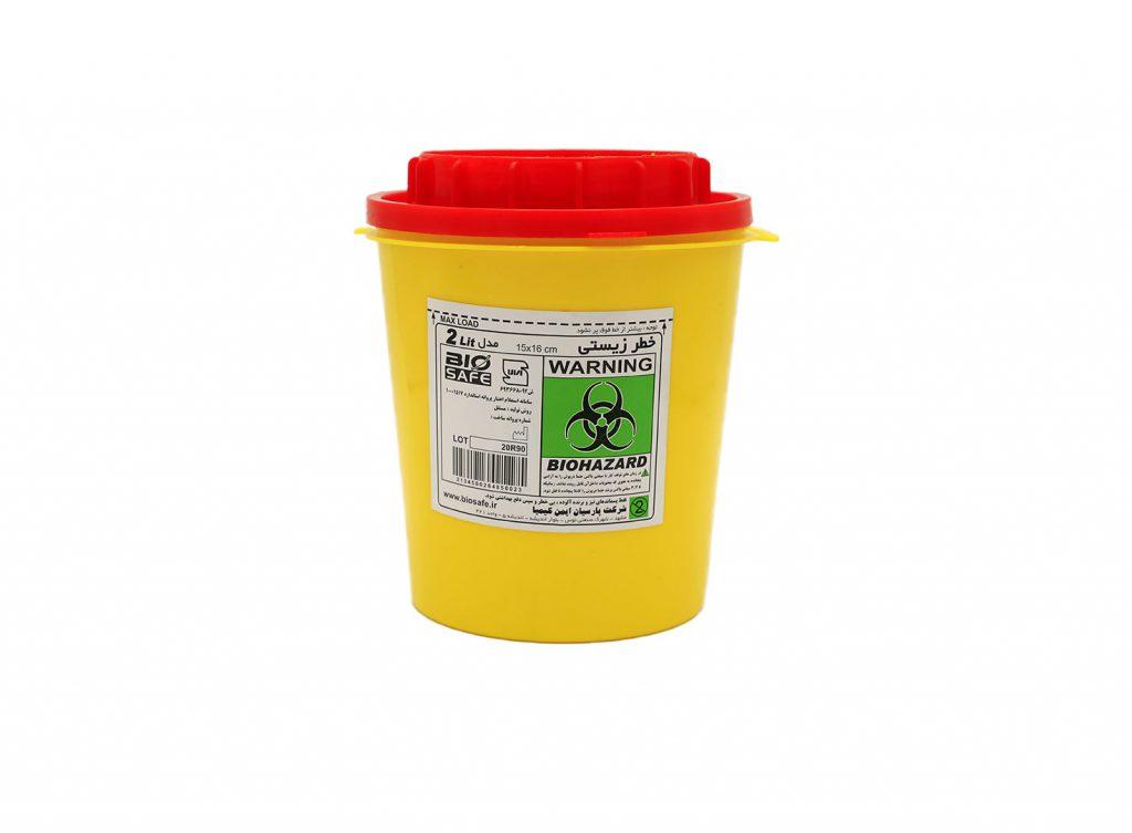 سیفتی باکس با نام علمی Sharps Container ظرفی است عمدتا از جنس مواد پلیمر و کاملا یکبار مصرف برای نگهداری و حفظ پسماندهای تیز و برنده و سرنگهای پزشکی، که پس از پرشدن تا خط نشانه، توسط درپوش کاملا پلمپ شده و سپس مطابق استاندارد امحا میشود.