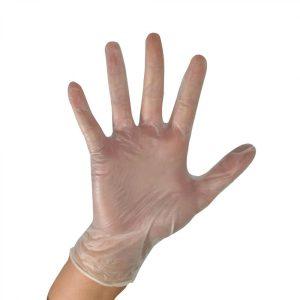 دستکش وینیل یکبار مصرف پزشکی برای معاینه
